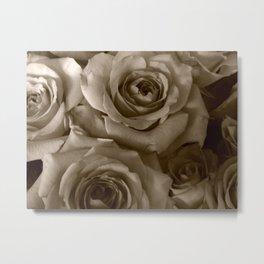 Ghost Roses Metal Print