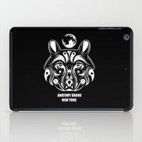 okami iPad Cases featuring OKAMI: ANATOMY BRAND by Kush Wright