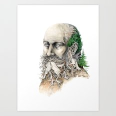 Element : Earth Art Print