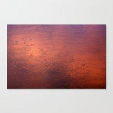Rain shower reflections Canvas Print