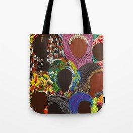 African Muslima Queens by Kelly Izdihar Crosby Tote Bag