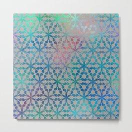 Flower of Life Variation - pattern 3 Metal Print