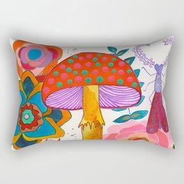 Gathering Story Seeds Rectangular Pillow