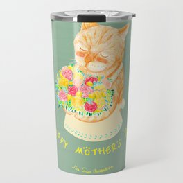 Happy Meowther's Day Travel Mug