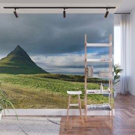 Icelandic small volcano Wall Mural