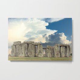 Stonehenge VI Metal Print
