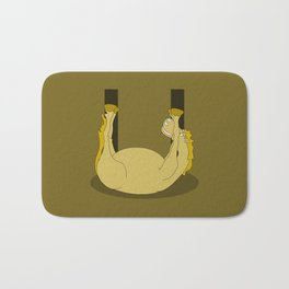 Monogram U Pony Bath Mat