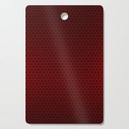 Red & Black Graphite Honeycomb Carbon Fiber Cutting Board
