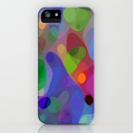 Retro Shapes iPhone Case