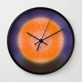 Digifloral Wall Clock