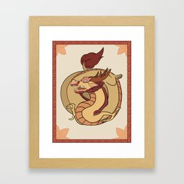 YOTR-Dragon Framed Art Print