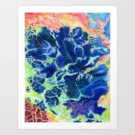 Sea Pulsar 2 Art Print