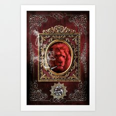 King Smokey Art Print