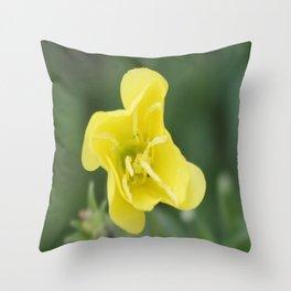 professional flower Throw Pillow