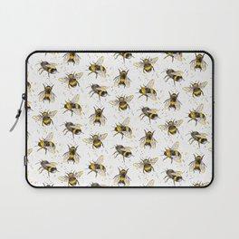 Fluffy Bumblebees (Pattern) Laptop Sleeve