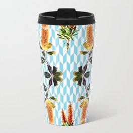 Beautiful Banksia Print Travel Mug
