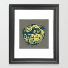 Bandit Framed Art Print