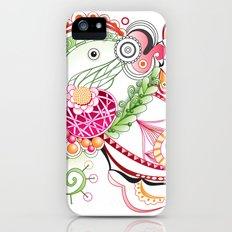 Spring tangle iPhone (5, 5s) Slim Case