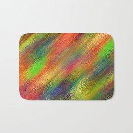 Abstract crayon background Bath Mat