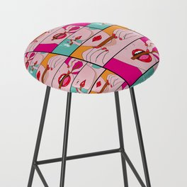 comics Bar Stool