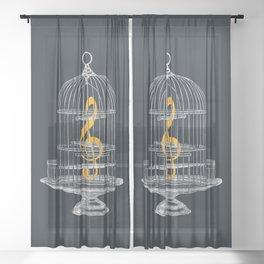 Set Me Free Sheer Curtain