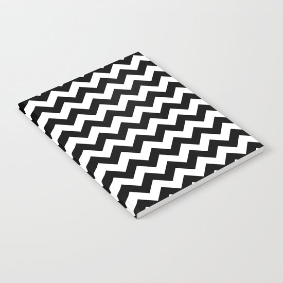 Chevron (Black/White) Notebook