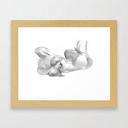 Quick Sketch 1317 Framed Art Print