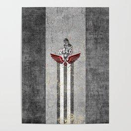 poloplayer grey Poster