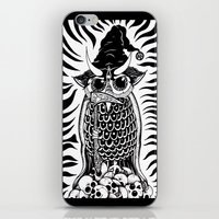 wizard iPhone & iPod Skins featuring Wizard by SpaceCrafts