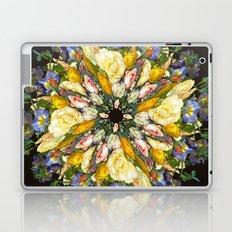 Flemish Floral Mandala 5 Laptop & iPad Skin