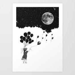 I have the night Art Print