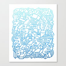 Wave Machine Canvas Print