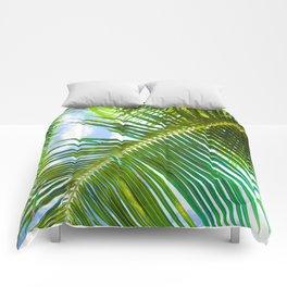 Aloha Lāhainā Palms Maui Hawaii Comforters