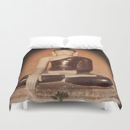 Buddha in Bagan Duvet Cover