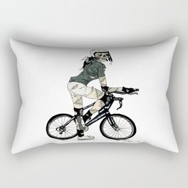 Biker Ghoul Rectangular Pillow