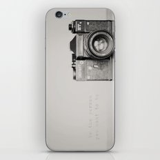 be the person you want to be ...  iPhone & iPod Skin