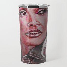 Dolly Parton in Pink Travel Mug