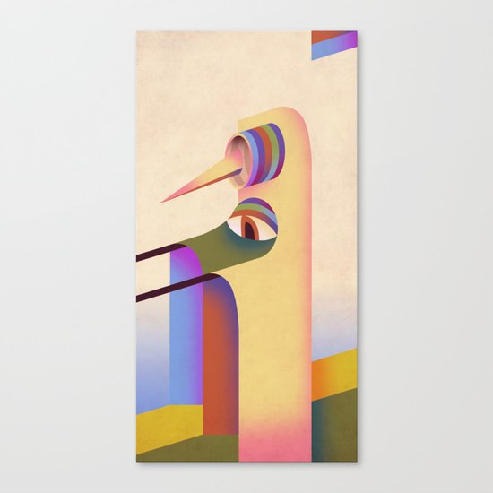 Figure #1 Canvas Print