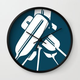 Paddles UP! Wall Clock