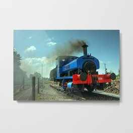 Lady Nan at Cranmore Metal Print