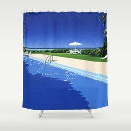 Hiroshi Nagai Vaporwave Shirt Poster Wallpaper Shower Curtain