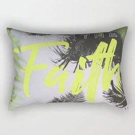Keep the Faith Rectangular Pillow