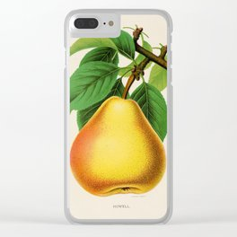Canadian Horticulturalist 1888-96 - Howell Pear Clear iPhone Case