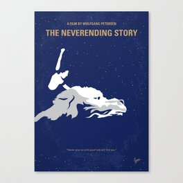 No975 My The NeverEnding Story minimal movie poster Canvas Print