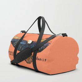 Be Bold.Be Brave. Be Courageous-Joshua 1:9 Duffle Bag