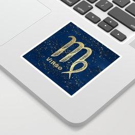 Virgo Zodiac Sign Sticker