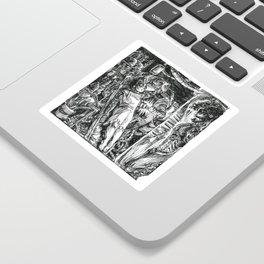 Inktober 2018: Precious Sticker