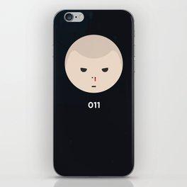 Stranger Things Eleven iPhone Skin
