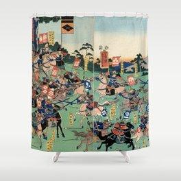Battle of Kawanakajima Shower Curtain