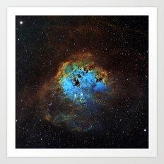 The Tapdole Nebula Art Print